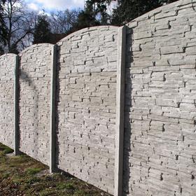 Skládané panelové ploty