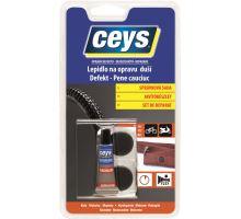 Lepidlo oprava defektu (syntetický kov) 40ml + 40g kovová šeď Ceys (6)