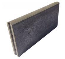 Betonový chodníkový obrubník Best Linea II 8 x 25 x 100 cm přírodní