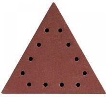 Brusný papír delta 285x285x285mm, P60, suchý zip (5ks/bal), DED7749T0 - Dedra