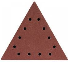 Brusný papír delta 285x285x285mm, P80, suchý zip (5ks/bal), DED7749T1 - Dedra