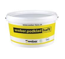 weber.podklad haft, 1 kg - adhezní můstek pro nesavé podklady s křemičitým pískem