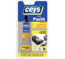 Lepidlo na tvrdé plasty 30ml Plastik Ceys (24)
