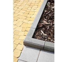 Betonový chodníkový obrubník Best Linea rohová 90 vnější 8x25x25 cm přírodní