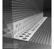 Flexibilní PVC roh LK-BOX pro zateplovací systémy, návin 25m, 100x100 mm