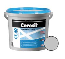Ceresit Flexibilní spárovací hmota CE 40 Aquastatic 5 kg, manhattan 10