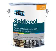 HET Soldecol HG - syntetická lesklá vrchní barva na dřevo a kov