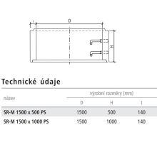 Betonová kanalizační skruž SR-M 150x50x14 mm Best