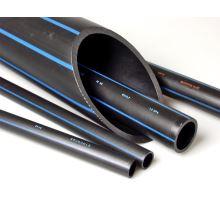 """PE trubka, vodovodní, 25 mm x 3/4"""", černá"""