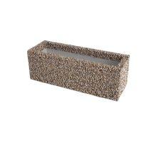 Betonový truhlík Diton David vymývaný 50 x 17 x 17 cm Dunaj 4 - 8 mm