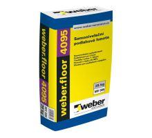 weber.floor 4095 25 MPa, 25 kg - anhydritová samonivelační hmota pro tl. vrstvy 1-10 mm, pochozí po 2-4 hod.