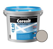 Ceresit Flexibilní spárovací hmota CE 40 Aquastatic 5 kg, šedá 07
