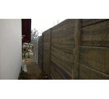 DITON Plotový systém Tvář dřeva sloupek průběžný natur patina 292x13x13 cm