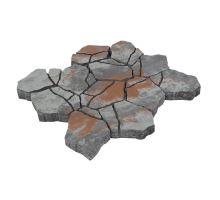 Betonová skladebná dlažba Diton Stone 8 cm falbo (skladba 12 kamenů)