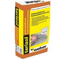 Weber terizol 20kg jednosložková cementová hydroizolační hmota (interiér/exteriér)