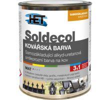 HET Soldecol Kovářská barva 1999 kovově šedá 0,75l - samozákladující barva