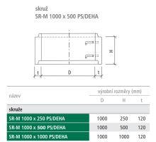 Betonová skruž SR-M 100/50 cm se zámkem PS/DEHA Best