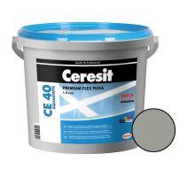 Ceresit Flexibilní spárovací hmota CE 40 Aquastatic 5 kg, cementgrey 12