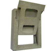 Komínová dvířka betonová B1 výsuvná kolébková