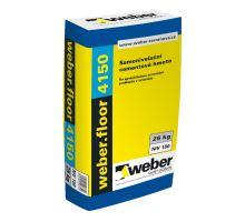 weber.floor 4150 25 MPa, 25 kg - samonivelační cementová stěrka pro tl. vrstvy 2-30mm, pochozí po 2-4 hod.