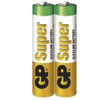 Baterie 2xAAA GP 24A R03 tužková alkalická (2ks)