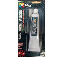 44u Sanitární silikon 50ml bílý v tubě