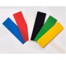 Zasklívací podložka 100x24x3 mm červená distanční/zasklívací/vymezovací plastová podložka