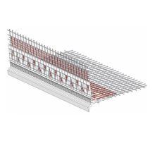Rohový profil s protipožární tkaninou AFD, PVC 10/15 2,5m