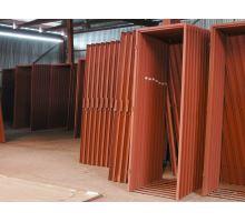 Ocelová zárubeň H 95/600 P pro klasické zdění