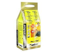 weber.color comfort Cement, 5 kg - spárovací malta, šířka spáry 1-6 mm, interiér + exteriér