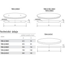 Zákrytová deska (poklop celistvý) studniční TBN-Q 800/C Best