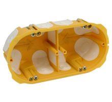 Elektrokrabice dvojitá KO KPL 64-50/2LD duté stěny