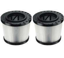Náhradní filtry, 2 ks, pro vysavač DWV902M/L, DeWALT
