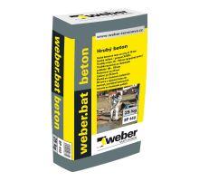 weber.bat beton hrubý 35 MPa, 25 kg - cementová betonová směs pro tl. vrstvy 40-150mm, zrno 0-10mm