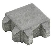 Betonová zatravňovací eko dlažba Semmelrock Vegetační kámen 8 x 20 x 20 cm šedá přírodní
