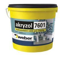 Weber akryzol 15kg jednosložková hydroizolační hmota na disperzní bázi (interiér)