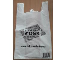 Taška mikroténová 30x50cm logo DSK