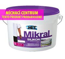 HET MIKRAL SILIKON - bílá fasádní vodoodpudivá barva