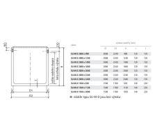 BEST nádrž retenční bez výtoku SU-M-D 200/224x124x12