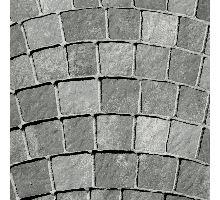 Arte Pražská kostka, oblouk dlažby, výška 10 cm, šedočerná, Semmelrock