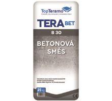Terabet B 30 MPa 25kg, beton třídy C 25/30, TopTeramo