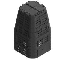 Kompostér plastový, černý, 880 litrů, MULTI