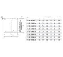 BEST nádrž retenční s výtokem SU-M 200/224x99x12