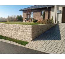 Presbeton Duo Stone schod, okrová, 40x40x15cm