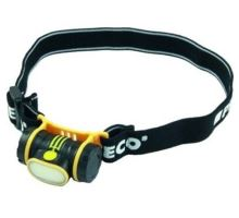 Svítilna čelovka LED dioda COB 150 lum. 3xAAA Proteco