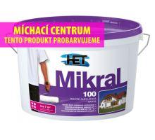 HET MIKRAL100 - bílá fasádní vysoce propustná barva