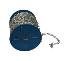 Řetěz 4 mm krátké oko na cívce, 60 m v balení