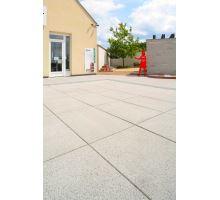 Plošná dlažba, terasová vymývaná, bez laku, 40x40x4 cm, Velino, BEST