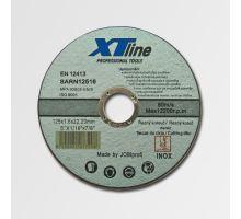 Kotouč řezný na kov a nerez, 125x1,6mm SARN12516 XTline