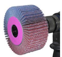 Kotouč lamelový brusný stopkový 30x15x6mm, zrn. 120, F28ST30120 Dedra